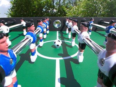 Profi Tischkicker Fußballtisch Tischfussball Fußball Kicker Massiver Kickertisch -